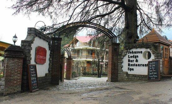 Johnson Lodge & Spa: entrance
