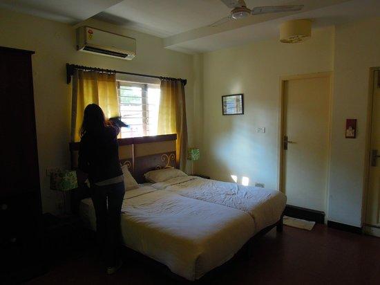 Annsun Boutique Hotels : Photo de la chambre présentée sur le site web de l'hôtel. Dur de croire qu'il s'agit de la même