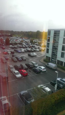 Radisson Blu Hotel London Stansted Airport: View out of the window