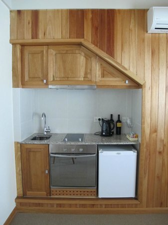 Las Bayas Hotel: kitchenette