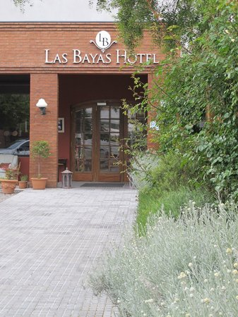 Las Bayas Hotel: front of the hotel