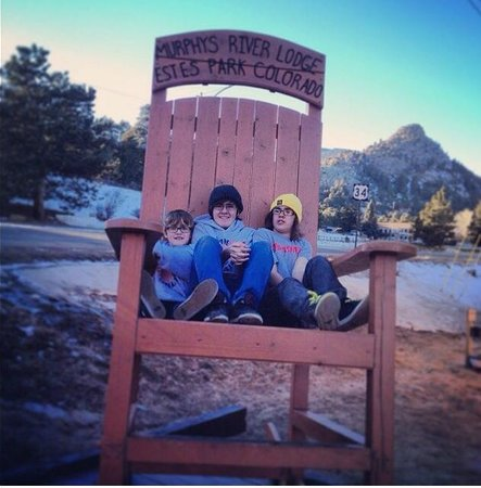 Murphy's River Lodge: Big Chair
