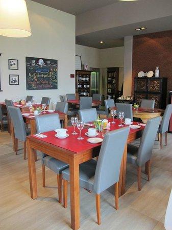Las Bayas Hotel : diningroom