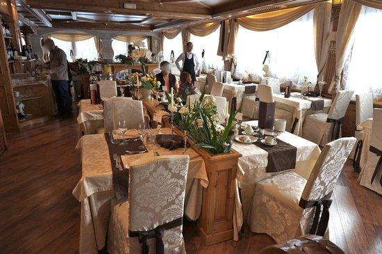 Hotel Letizia: sala da colazione.... bellissima!
