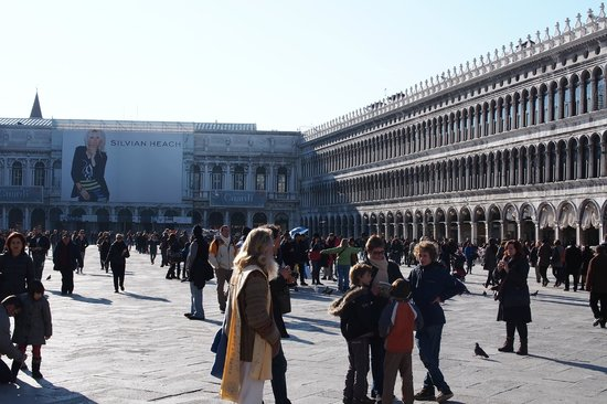 St. Mark's Square: Buzzing Around San Marco