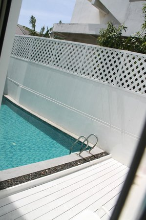 Casa Blanca: la piscine