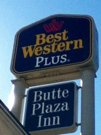 Best Western Plus Butte Plaza Inn: Signage