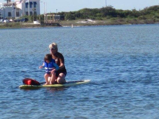 Water Warrior: Littlest Warrior. What a joy!