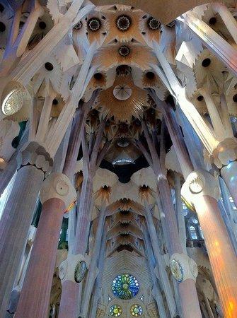 Sagrada Família : Inside the basilica