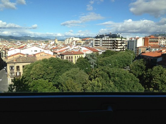 Hotel Tres Reyes: View from our room.
