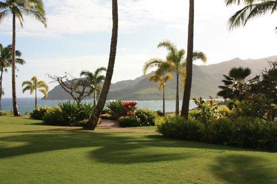 Marriott's Kauai Lagoons - Kalanipu'u: View of the mountains and the waterway inlet