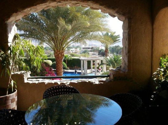 Mövenpick Resort & Residence Aqaba: View from the Balcony