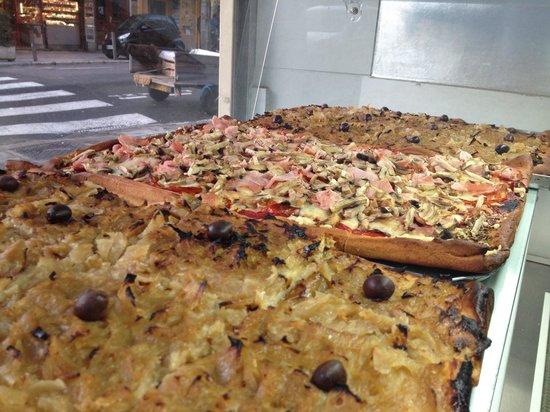 Kiosque TinTin : Pissaladière, pizza...