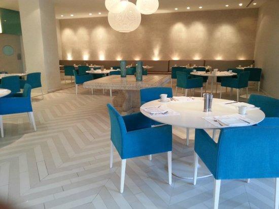 Movenpick Resort & Residences Aqaba : Set up for breakfast