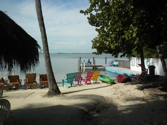 Seafarer Resort and Beach: small beach area
