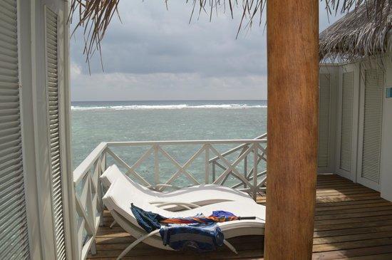 Cinnamon Dhonveli Maldives : Deck