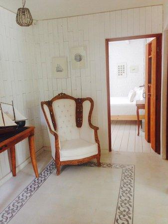Hotel La Semilla: Hall area