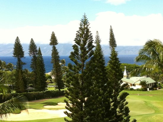The Ritz-Carlton, Kapalua : View from Club Level Patio