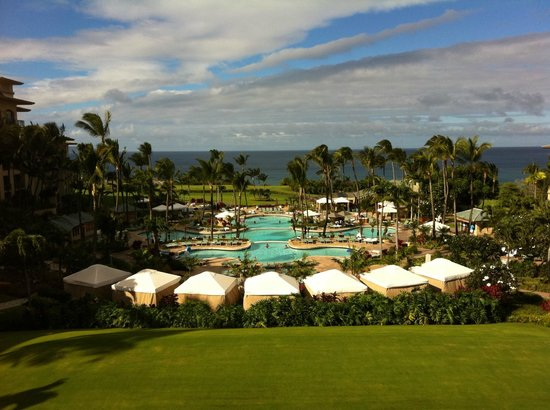 The Ritz-Carlton, Kapalua : View from Lobby Entance