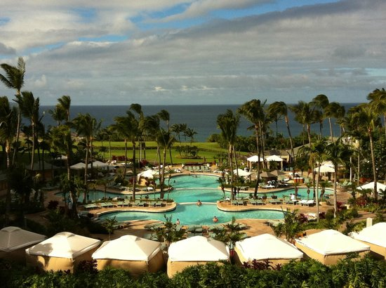 The Ritz-Carlton, Kapalua : View from Lobby