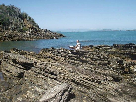 Gringos B&B: Pedras na Ferradurinha que é a praia mais linda de Búzios