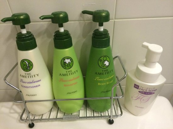Hotel Century Southern Tower: Shiseido products