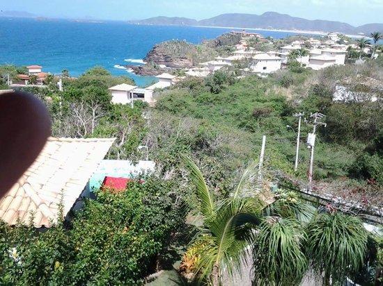 Gringos B&B: Vista do quarto para praia de geribá