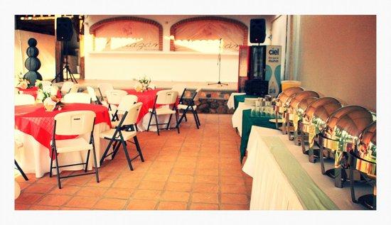 Hotel Surf Olas Altas : Planeamos su evento social en nuestra área del jardín y de la alberca