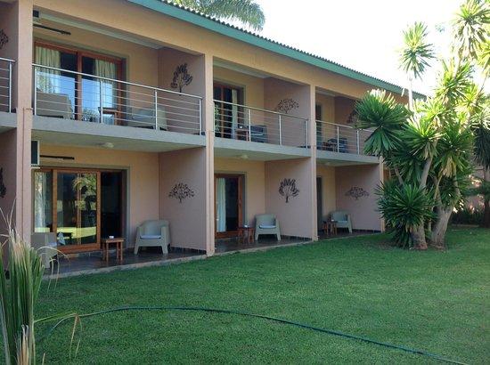 Rio Vista Lodge: Main bedroom block