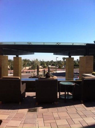 The Phoenician, Scottsdale: one of the many terraces