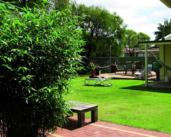 Busselton Guest House : gardenview