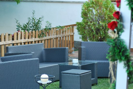 Hotel Segle XX: terraza piscina