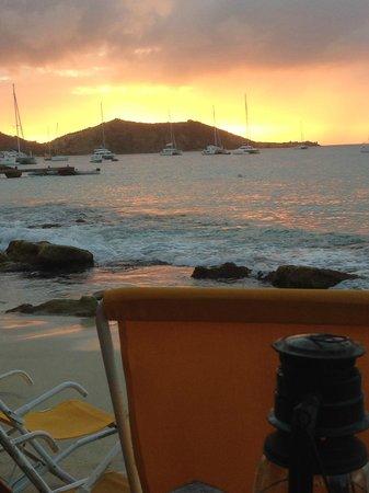 Calmos Cafe : sunset at calmos
