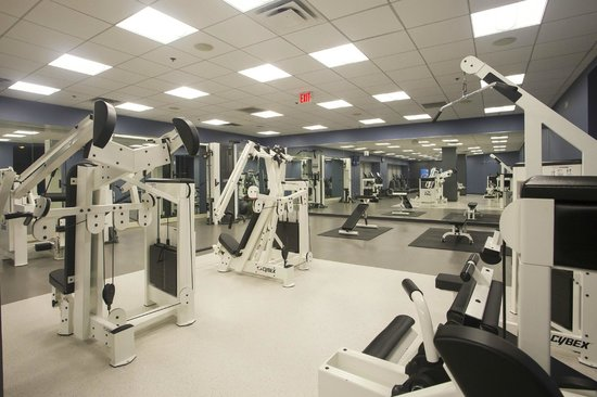 Little Rock Marriott: Renovated Fitness Center; new Life Fitness cardio equipment