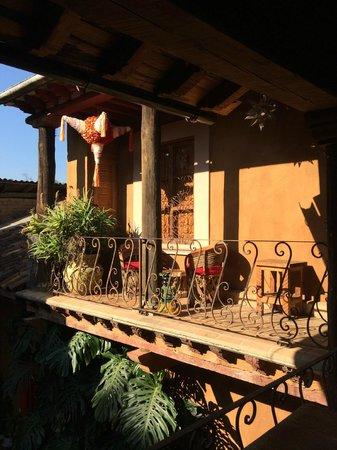 Hotel Casa Encantada : Balcony
