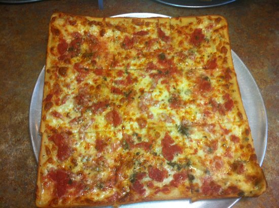 Florham Park Pizza and Restaurant: The best Grandma's pizza!!
