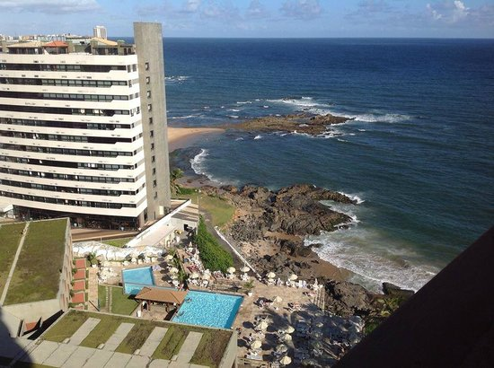Bahia Othon Palace: Vista quarto 813