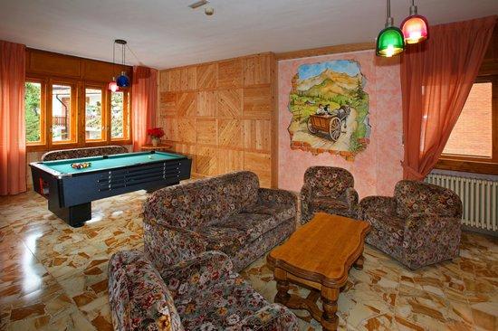 Hotel Holiday Debili: soggiorno con biliardo