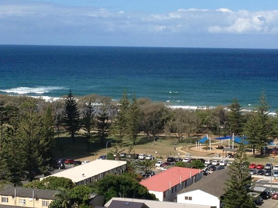 Ocean Pacific: View from room