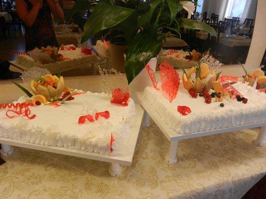 Hotel Gardenia: Dessert