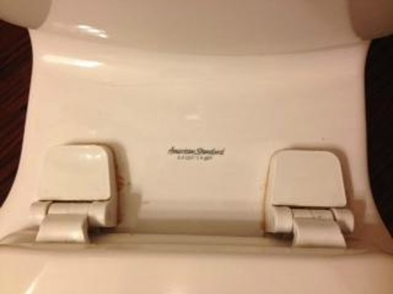 La Quinta Inn & Suites Macon West: Scum around seat that could have been easily cleaned