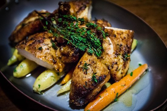 Bread & Tulips: Roasted Chicken with Heirloom Carrots