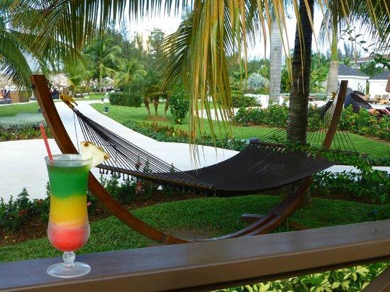 Secrets St. James Montego Bay: One of the hammocks