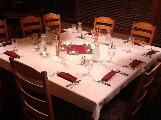 Inn at Union Pier: Corporate group dinner