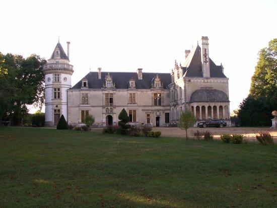 Château de la Court d'Aron : Chateau de la court d'aron