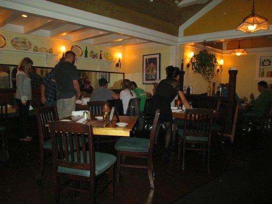 Abbondanza Italian Restaurant Dining Room View