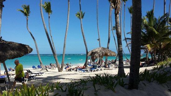 Grand Palladium Bavaro Suites Resort & Spa: At the beach