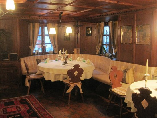 Hotel Alte Post: Small Dining Room