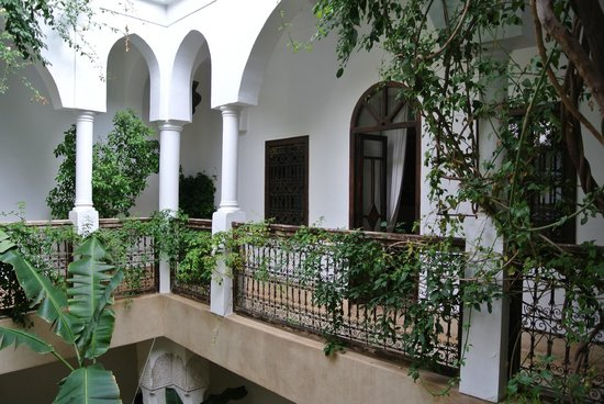 Riad Hayati: View from our bedroom door