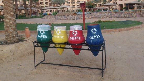 Mövenpick Resort Hurghada: Те самые корзины